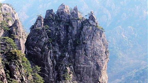 老君山风景区手绘地图