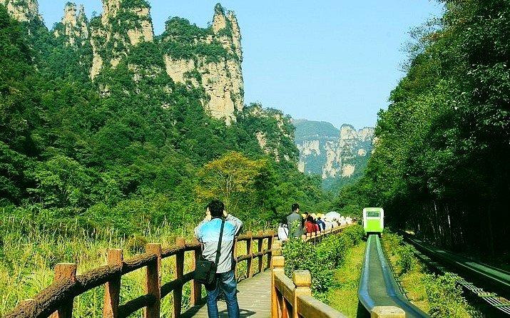 美丽的乌龙峡谷【延庆十里画廊】