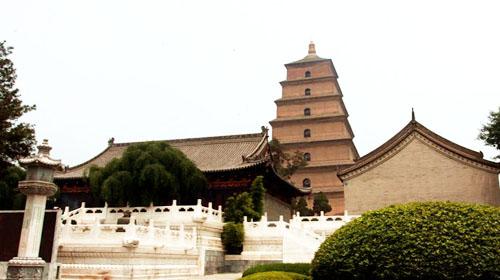 西安大慈恩寺大雁塔风景区旅游景点简介,图片,旅游