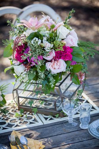 创意风格绚烂花卉 令婚礼萦绕醉人花香-婚礼布置-婚嫁
