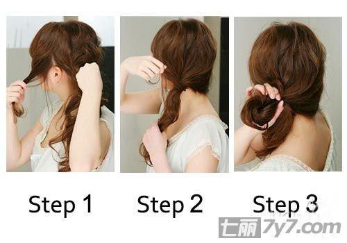 5种脸型与发型的搭配图解教学 diy属于自己的完美造型