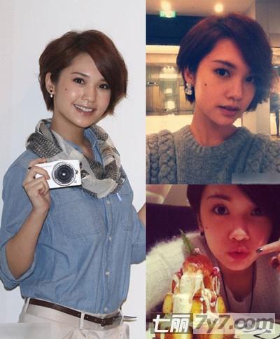 王菲小s高圆圆发型 女明星短发清爽减龄