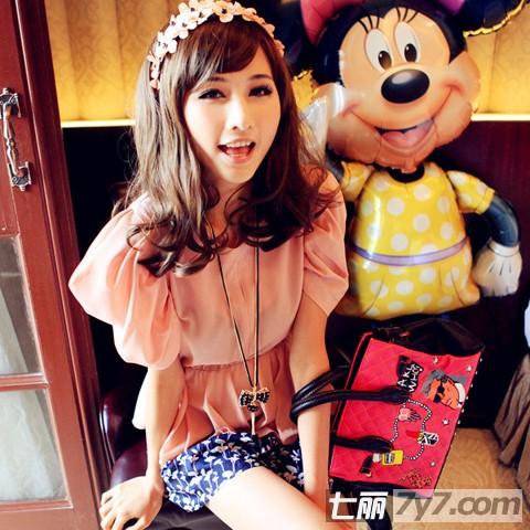 2012日系甜美服装搭配 夏日将可爱进行到底-风格搭配