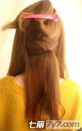 韩式发型扎法步骤图解