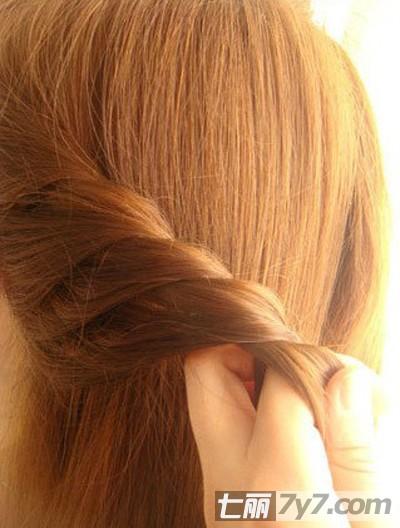 超详细韩式编发发型教程 图解韩系淑女发型简单步骤