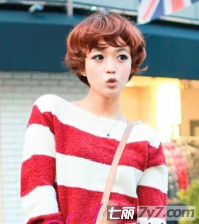 2013最新韩式流行短发发型图片