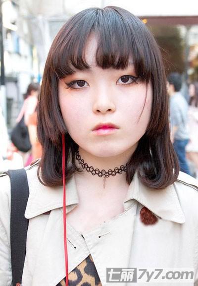 最新日本潮人街拍时尚短发发型 完美打造原宿森女小清新