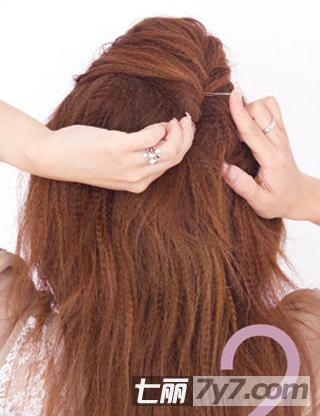 小性感慵懒女生发型扎法步骤