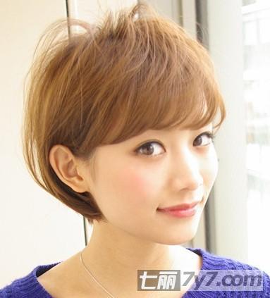 2013最新流行短发发型趋势 清新甜美妩媚小女人任你选