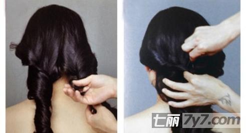 韩式新娘发型教学 简单实用三分种闪耀婚礼