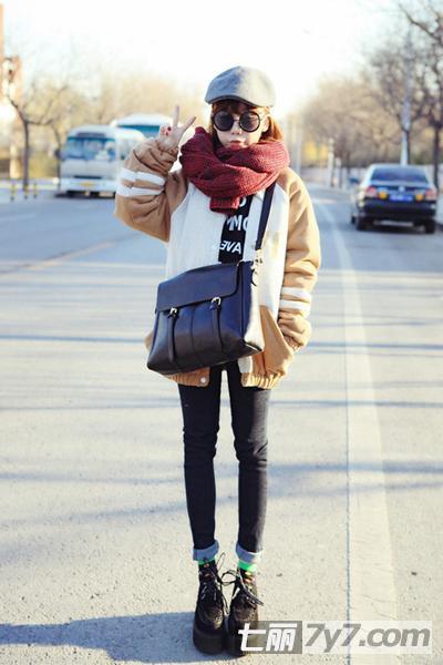 冬季女士服装外套搭配