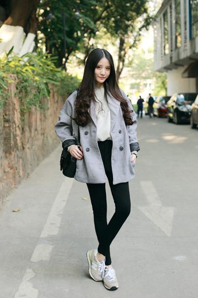 矮个子女生外套穿衣搭配