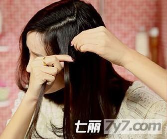 短发发型扎头发 打造时尚编发