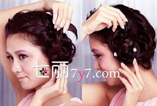 日式编发教程图解 甜美女生恋爱必备-diy发型-美容