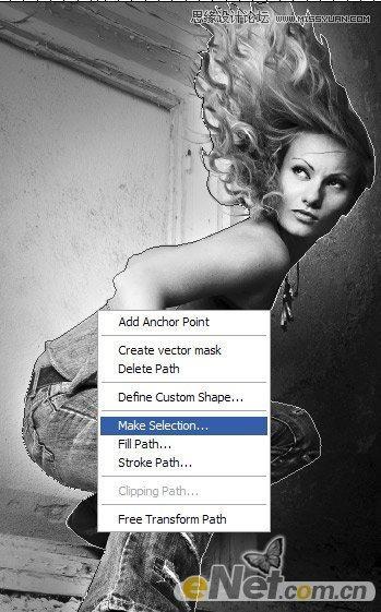 美女图片处理-photoshop设计实例-打造炫丽美女舞者