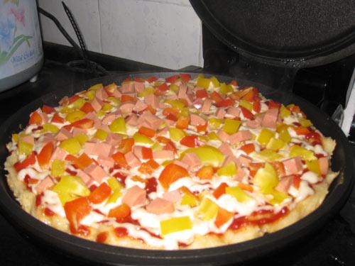 简易披萨的做法-家常做法-怎么做-视频-简易披萨做法