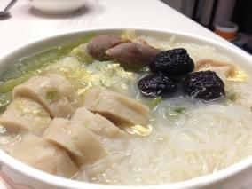 白菜粉丝汤