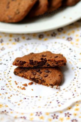 巧克力豆饼干