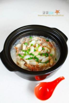 萝卜蟹肉煲