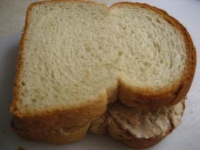 三文鱼三明治