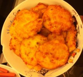 火腿土豆饼