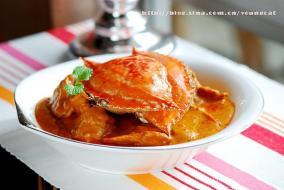 椰浆咖喱蟹