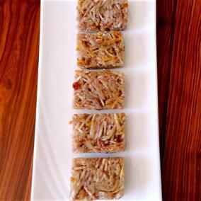 香煎芋丝饼