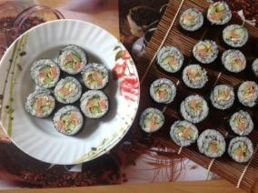 紫菜卷寿司